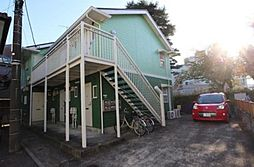 東京都狛江市岩戸南2の賃貸アパートの外観