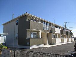 埼玉県鴻巣市小松2丁目の賃貸アパートの外観