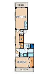 ピークドテン[1階]の間取り