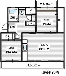 ヴィラナリー狭山 10号棟[2階]の間取り