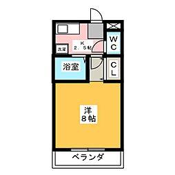CORE HOUSE[5階]の間取り