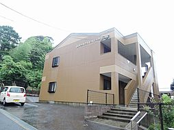 福岡県北九州市若松区大字頓田の賃貸アパートの外観