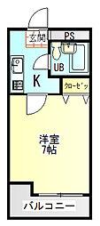 さくら館huji[4階]の間取り
