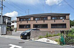 京都府京田辺市薪水取の賃貸アパートの外観