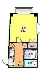 サンハイム轟[303号室]の間取り