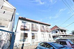 愛知県名古屋市名東区神丘町3の賃貸アパートの外観
