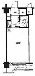 神奈川県横浜市中区若葉町3丁目の賃貸マンションの間取り