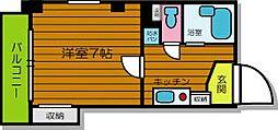 マンションJIN[4階]の間取り
