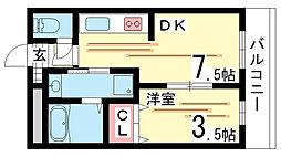 兵庫駅 6.6万円