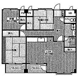 佐久間ビル[2階]の間取り