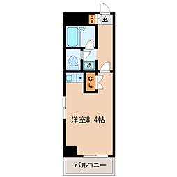 日宝プロシード榴岡[4階]の間取り