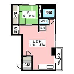 奈良マンション[1階]の間取り