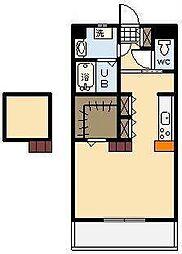 (新築)神宮外苑 東棟[502号室]の間取り