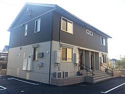 愛知県西尾市中畑町小井戸の賃貸アパートの外観
