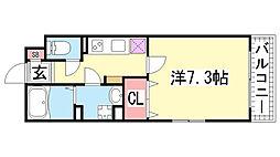 KTIレジデンス神戸元町[201号室]の間取り