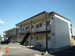 滋賀県大津市若葉台の賃貸アパートの外観