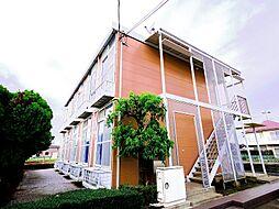 東京都清瀬市下清戸4丁目の賃貸アパートの外観