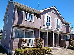 静岡県浜松市南区長田町の賃貸アパートの外観