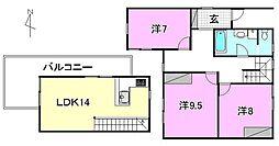 ambitionK2[101 号室号室]の間取り