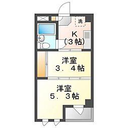 FONT45[2階]の間取り