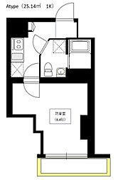 Bel Canto 浅草蔵前[5階]の間取り