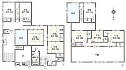 10DKと部屋数が多く、様々な用途に合わせてお使い頂けます。