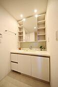 毎日快適に使える洗面室