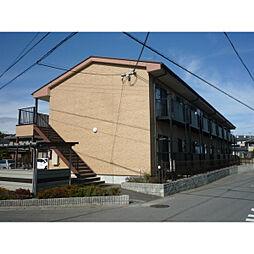 滋賀県湖南市下田の賃貸アパートの外観
