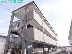 三重県桑名市大字和泉の賃貸マンションの外観