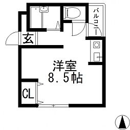 メゾン松村[305号室号室]の間取り