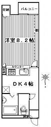 ハイツ318[108号室号室]の間取り