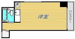神奈川県横浜市神奈川区高島台の賃貸マンションの間取り