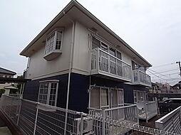 東京都三鷹市大沢1丁目の賃貸アパートの外観