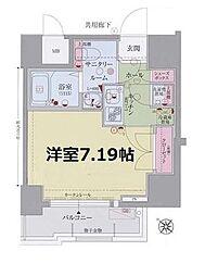 ディナスティ福島II[11階]の間取り