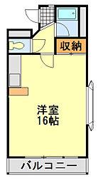 フィールドハウス末広弐番館[311号室]の間取り