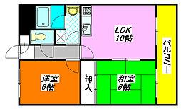 オルゴグラート・長田 1004号室[10階]の間取り