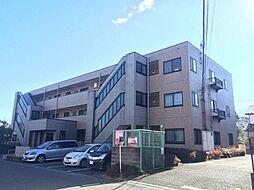 埼玉県坂戸市伊豆の山町の賃貸マンションの外観