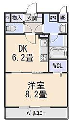 コンフォート24[203号室]の間取り