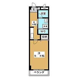 ラ・レコルトII[3階]の間取り
