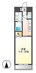 VERDINO内田橋[4階]の間取り
