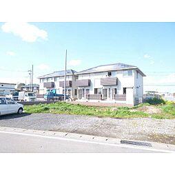 茨城県稲敷郡阿見町うずら野4丁目の賃貸アパートの外観