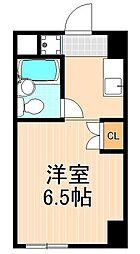 第2オークマンション[505号室]の間取り