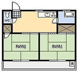 太田ハイツ[201号室]の間取り