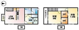 [テラスハウス] 千葉県東金市八坂台5丁目 の賃貸【/】の間取り