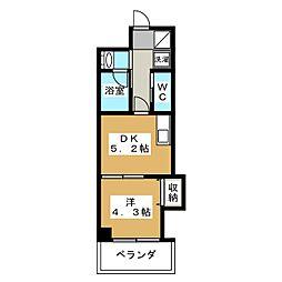 アメイジング桂[2階]の間取り