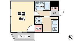 佐藤コーポ[3階]の間取り