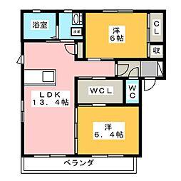 KINONE[2階]の間取り