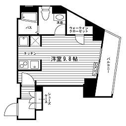 (仮称)町田駅学生マンション[420号室]の間取り