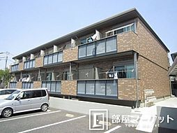 愛知県豊田市本地町4丁目の賃貸アパートの外観