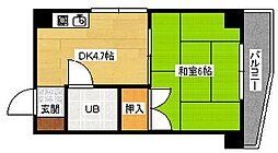 宮正商船ビル[4階]の間取り